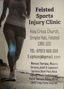 Felsted Sports Injury Clinic