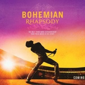 Bohemian Rhapsody Ticket – Sat 31st Aug '19