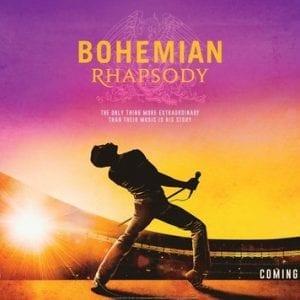 Bohemian Rhapsody Ticket – Sat 31st Aug '19